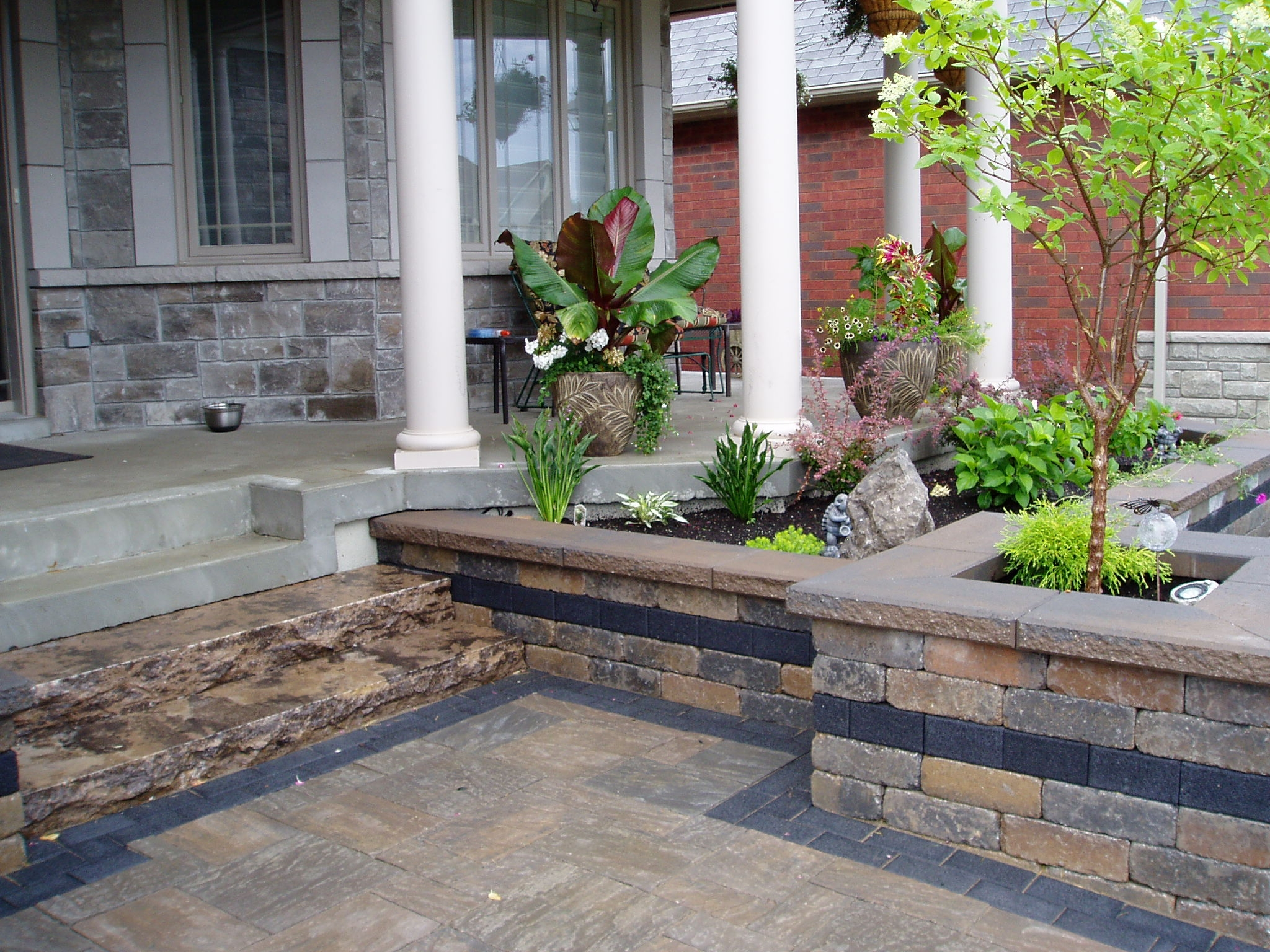 Landscaping After-Front Walkway